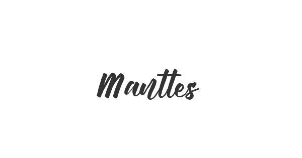 Manttes font thumbnail