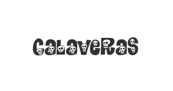 Calaveras font thumb