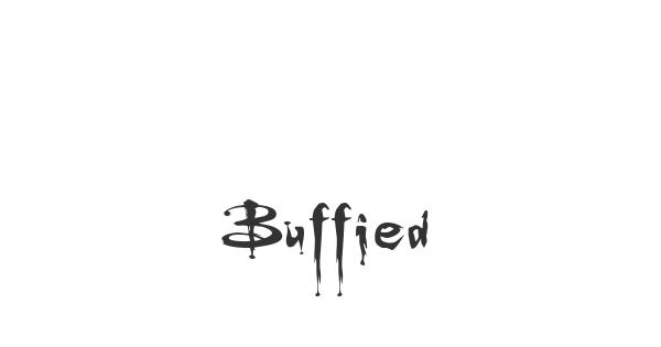 Buffied font thumbnail