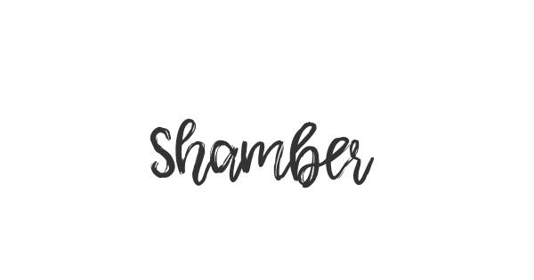 Shamber font thumbnail