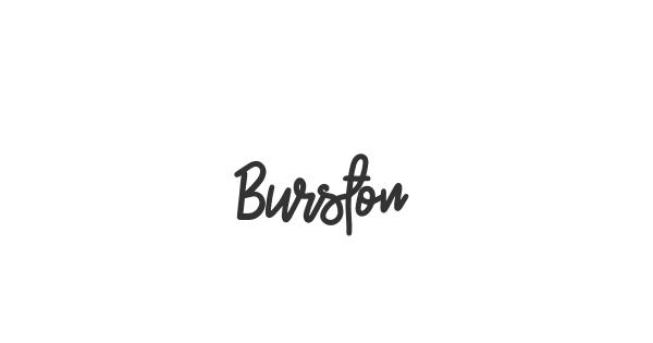 Burston font thumbnail