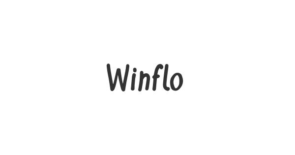 Winflo font thumb