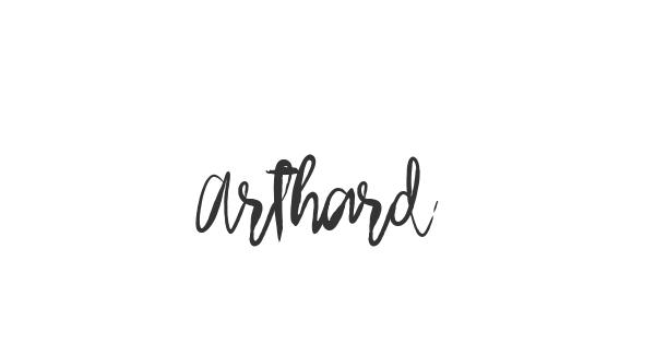 Arthard font thumbnail