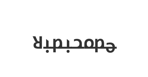 Ridicode font thumb