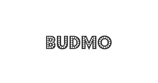 Budmo font thumbnail