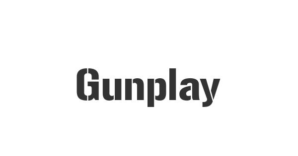 Gunplay font thumb