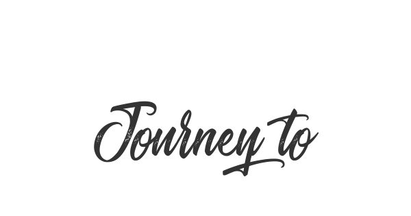 Journey to Thailand font thumb