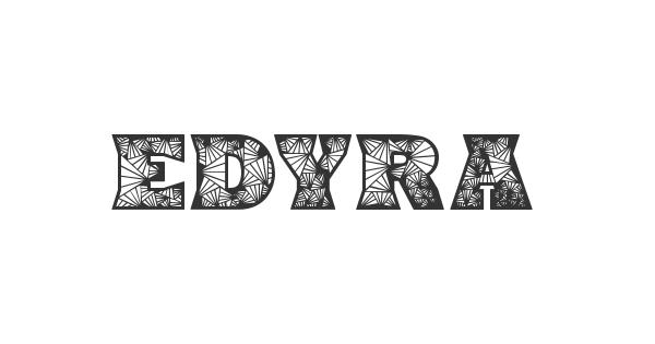Edyra font thumb