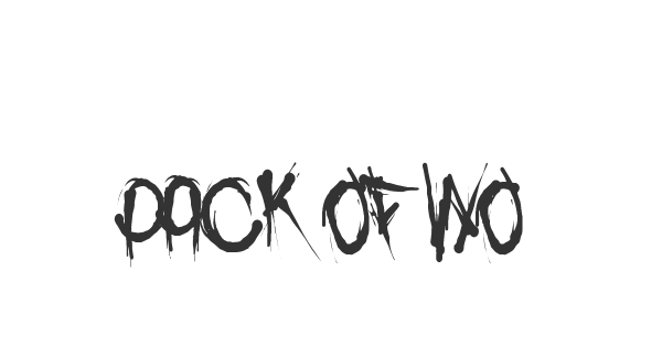 Pack of Wolves font thumb