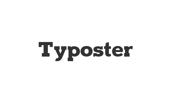 Typoster font thumb