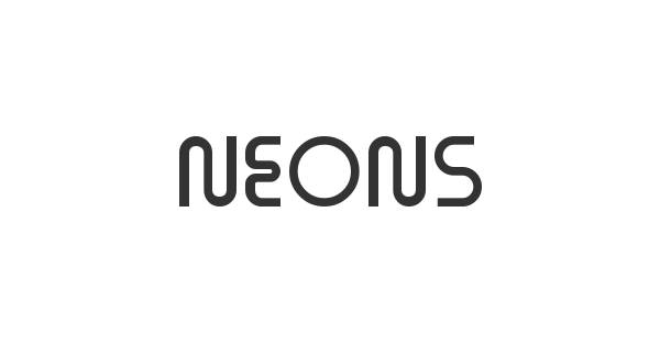 Neons font thumbnail