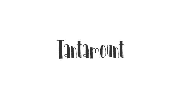 Tantamount font thumb