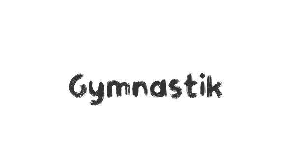 Gymnastik font thumb