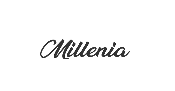 Millenia font thumb
