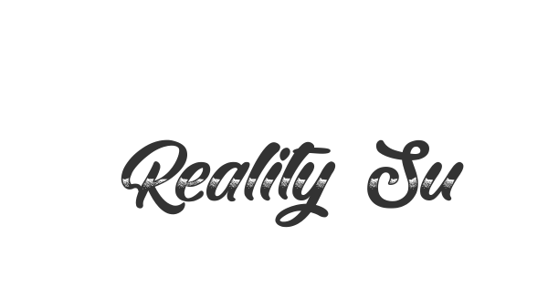 Reality Sunday font thumb