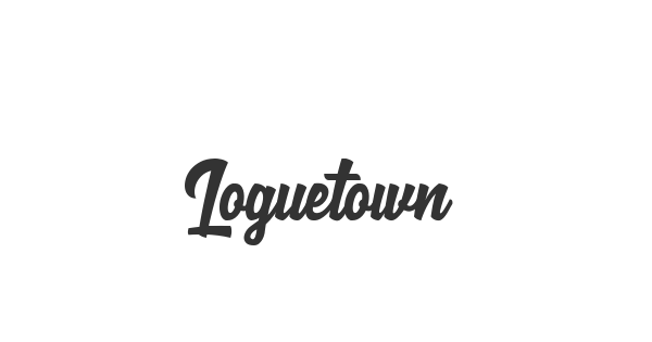 Loguetown font thumb