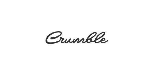 Crumble font thumb