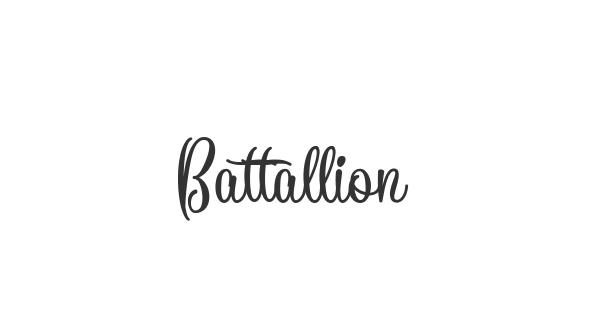 Battallion font thumb