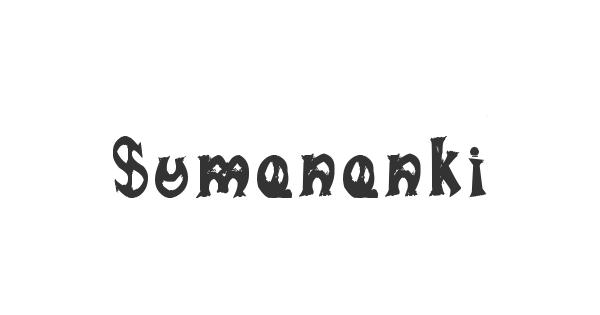 Sumananki font thumb