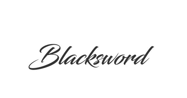 Blacksword font thumb