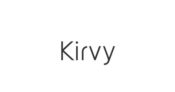 Kirvy font thumb