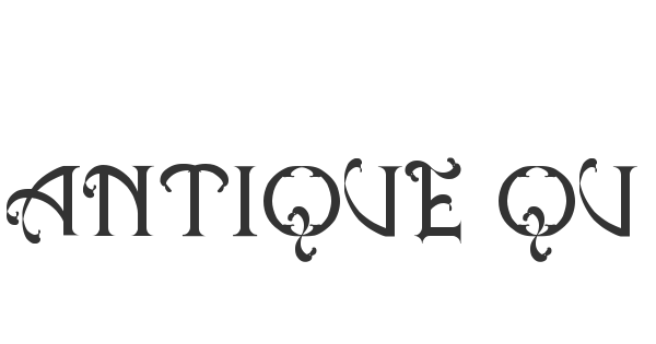Antique Quest St font thumb