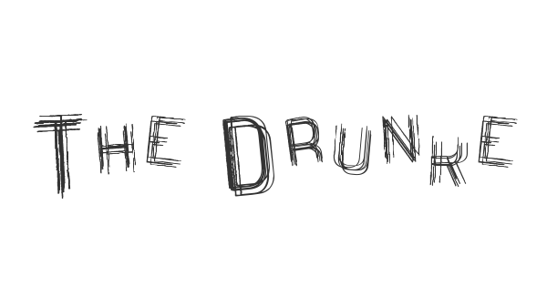 The Drunked Man St font thumbnail