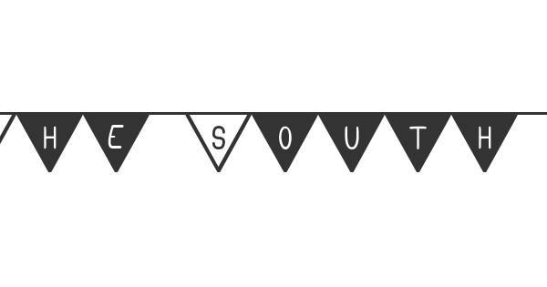 The South Flag St font thumbnail