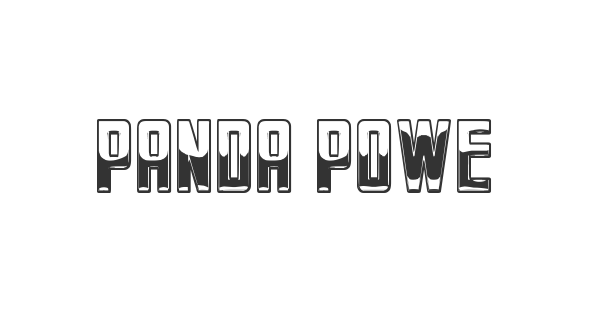 Panda Power St font thumb