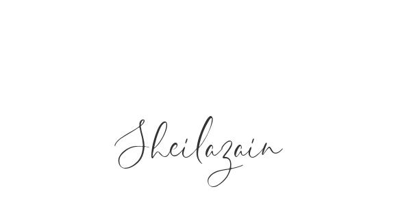 Sheilazain font thumb