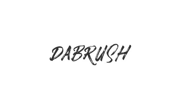 Dabrush font thumbnail