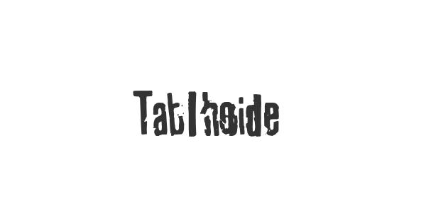 Tablhoide font thumbnail