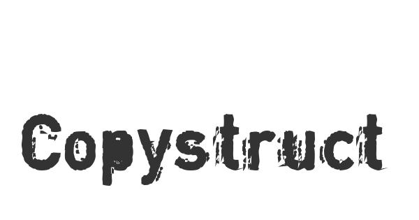 Copystruct font thumb
