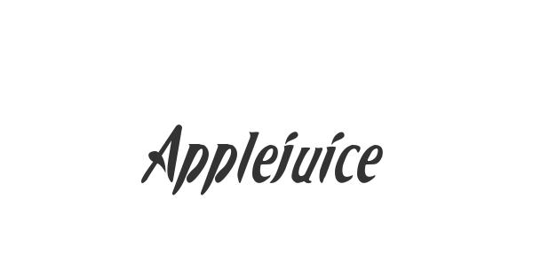 Applejuiced font thumb