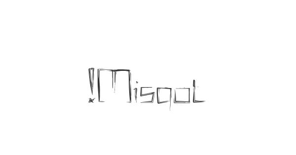 !Misqot font thumb