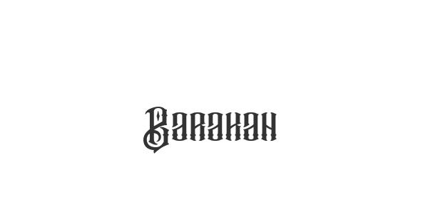 Barakah font thumbnail