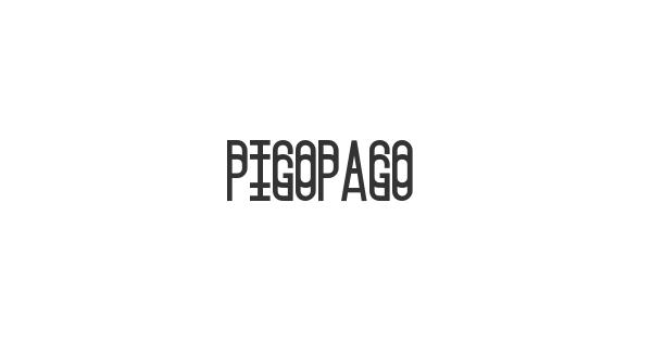 Pigopago font thumb