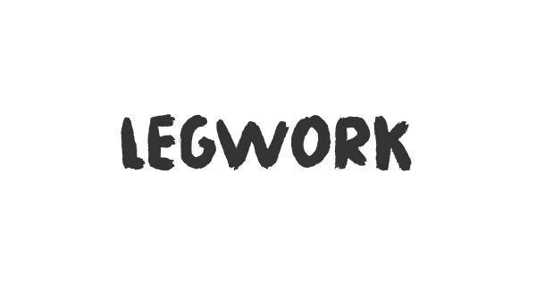 Legwork font thumb