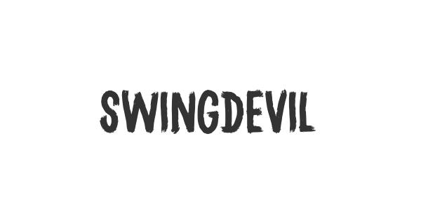Swingdevil font thumb