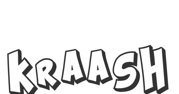 Kraash font thumbnail