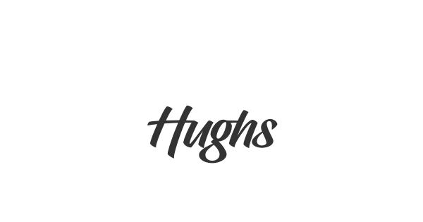 Hughs font thumbnail