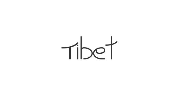 Tibet font thumbnail