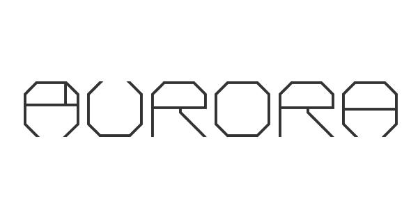 Aurora font thumb