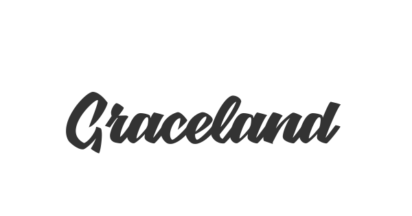 Graceland font thumb