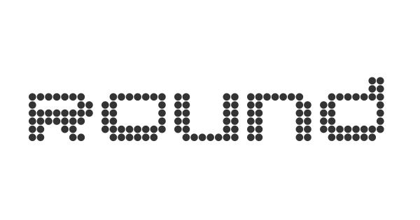 Round font thumb