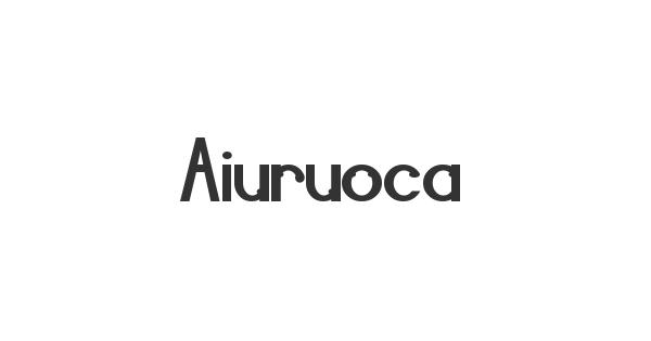 Aiuruoca font thumb