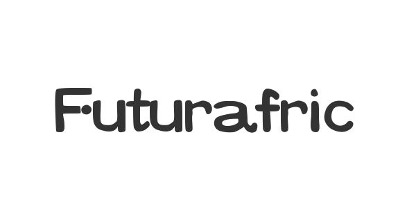 Futurafrica font thumb