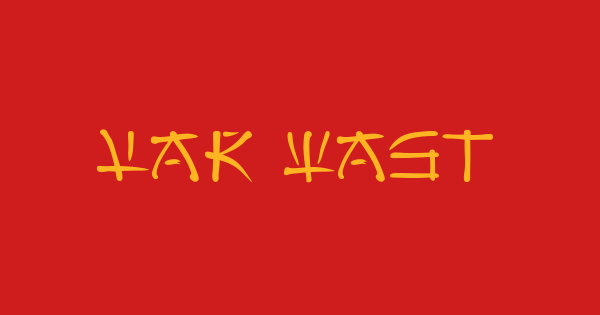 Far East font thumb