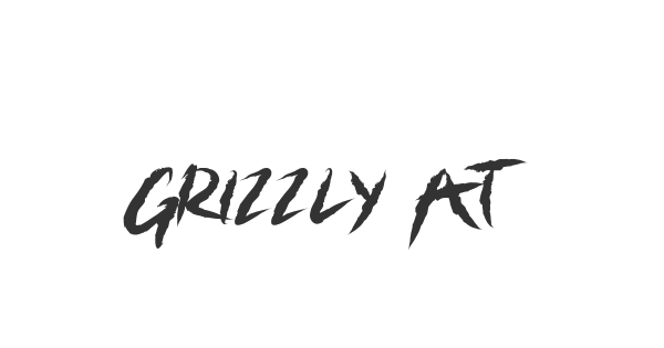 Grizzly Attack font thumb