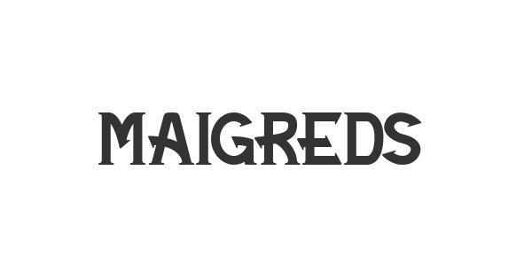 Maigreds font thumb